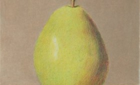 Pear on Box